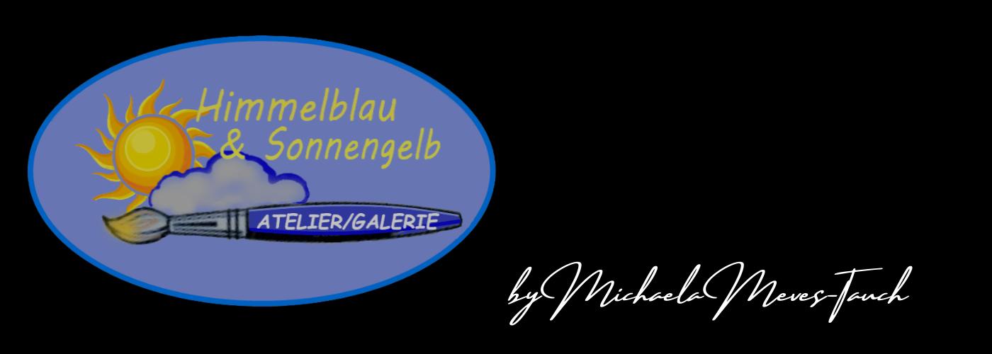 Atelier Himmelblau und Sonnengelb